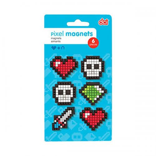DCI Pixel Magnets Assortment (Sets of 6)