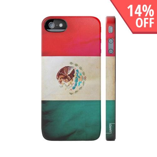 OEM Luardi Apple iPhone 5 Hard Case - Mexican Flag