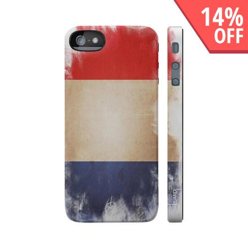 OEM Luardi Apple iPhone 5 Hard Case - French Flag