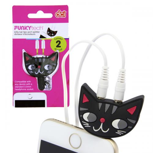 DCI Kitty Splitter - Share Your Music From A Single Smartphone!
