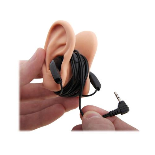 Thumbs Up! EARTIDY Universal Silicone Earbud Cord Wrapper - Beige Ears