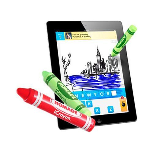 Original Homade iCrayon Stylus Pen for Touch Screen - Black Crayon