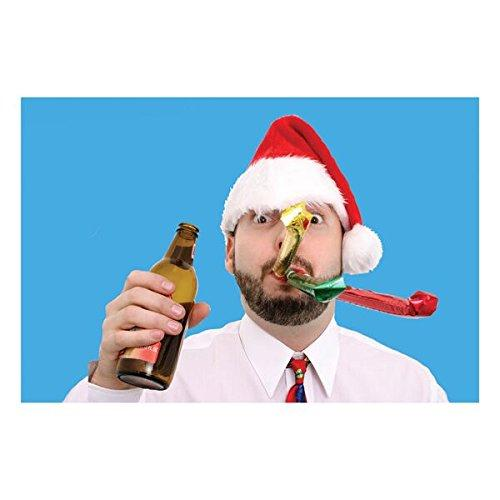 Holiday Santa's Bottle Cap - Santa hat with bottle opener