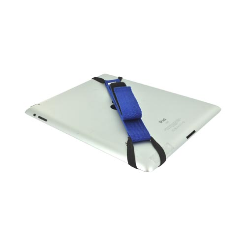 Original Helo Apple iPad (All Models) 360° Rotating Tablet Strap - Blue (Excludes iPad Mini)