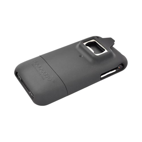 Apple iPhone 3G 3GS Rubberized Bottle Opener Case - Black