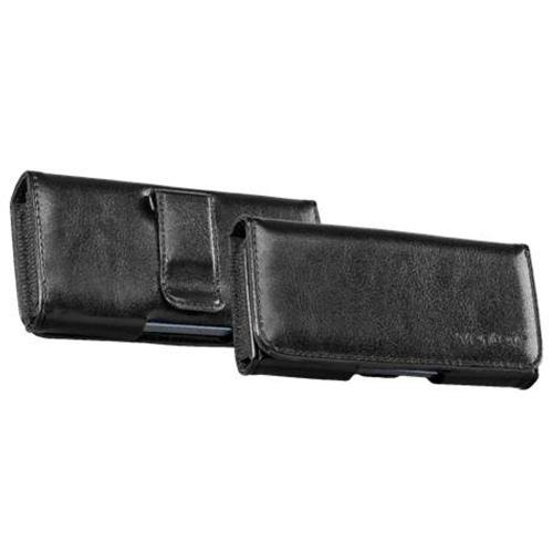 Horizontal Holster Pouch Case w/ Metal Belt Clip