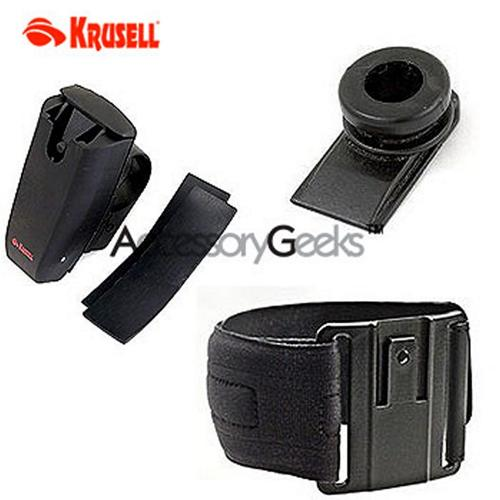 Krusell Multidapt Sports Pack - Strap, Holder, Clip