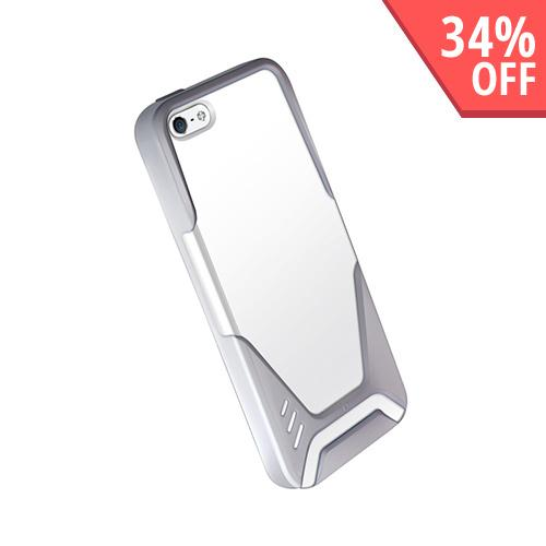 Hornettek Ozone VisorPro Series Gray/ White Hard Case for Apple iPhone 5/5S