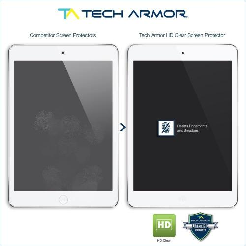 Tech Armor Apple iPad 4 3 & 2 [NOT FOR NEW IPAD AIR] High Definition (HD) Clear Screen Protectors [2-Pack]