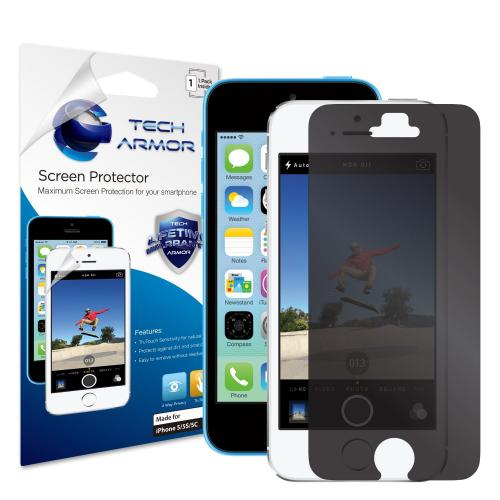 Tech Armor Ultimate 4-Way 360 Degree Privacy Screen Protector for Apple New iPhone 5 Latest Generation [1-Pack]
