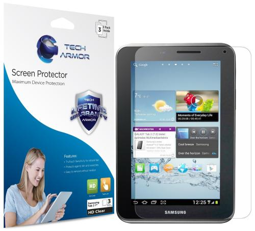 Tech Armor Premium High Definition Screen Protector for Samsung Galaxy Tab 2 to 17.8 cm (7 inches) [3-Pack]