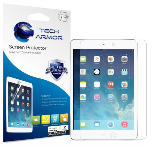 Tech Armor NEW High Definition ANTIGlare Screen Protector for Apple iPad Air (SP-AGFHD-APL-ID5-2)
