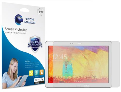 Tech Armor Samsung Galaxy Note 10.1 (2014 Edition) and Galaxy Tab Pro 10.1 Antiglare and Antifingerprint Screen Protector [2-Pack]