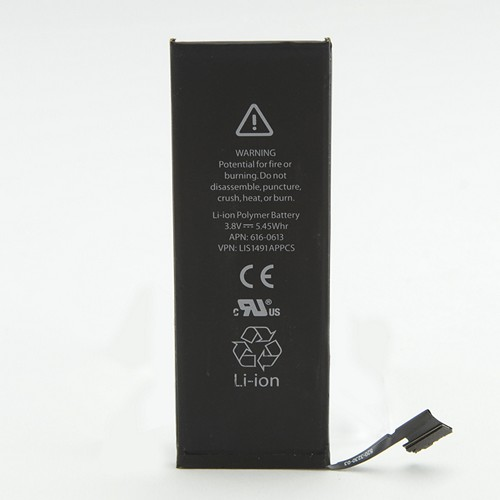OEM Apple Internal Replacement Battery for Apple iPhone 5 (1440 mAh) - 616-0611