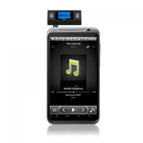 Naztech Black N3030 Series Hi-Fi Digital Universal FM Transmitter - Play Music From Any Device!