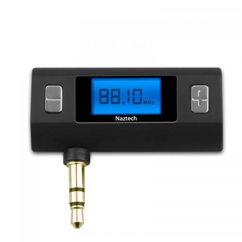 Naztech Black N3030 Series Hi-Fi Digital FM Transmitter - Play Music From Any Device!