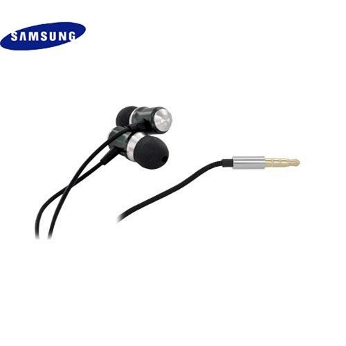 Samsung Massive Sound Dynamic Range Stereo Headset w/ Mic & Carrying Case, EHS70 (3.5mm) - Black