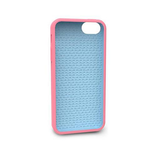 Apple iPhone SE / 5 / 5S  Case, iLuv [Pink/ Baby Blue Glow in the Dark] Aurora Series Hard Case