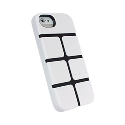 Apple iPhone SE / 5 / 5S  Case, Incase Systm [White/ Black] Chisel Series Hard Case