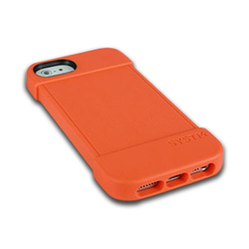 Incase SYSTM Orange Hammer Series Crystal Silicone Case for Apple iPhone 5/5S