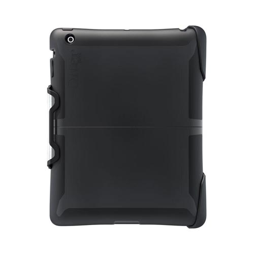Otterbox Apple iPad 2 Hybrid Reflex Series Hard Case w/ Silicone & Stand - Black/ Clear