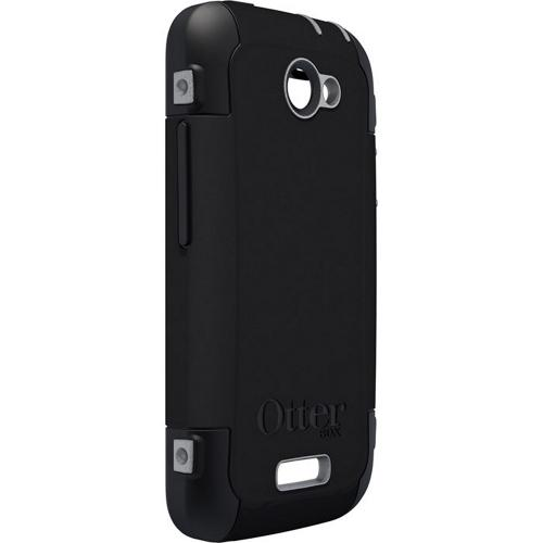 Otterbox HTC One X Defender Series Silicone Over Hard Case w/ Holster & Screen Protector - Black/ Gray