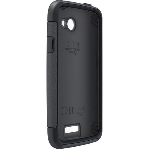 OEM Otterbox HTC One X Hybrid Commuter Series Case w/ Screen Protector - Black