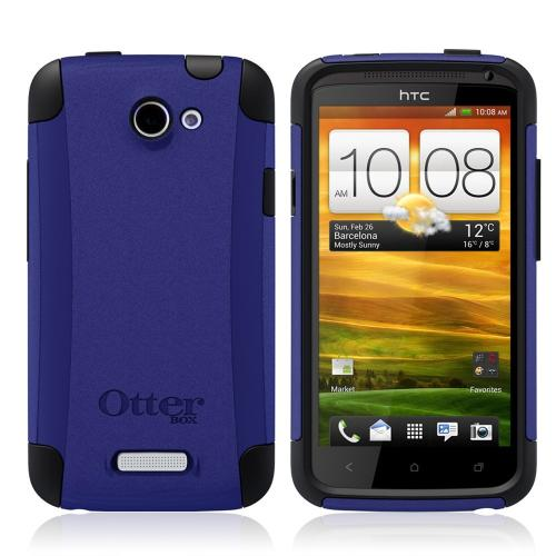 Otterbox HTC One X Hybrid Commuter Series Case w/ Screen Protector - Blue/ Black