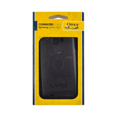 Otterbox Samsung Galaxy Note Hybrid Commuter Series Case w/ Screen Protector - Black