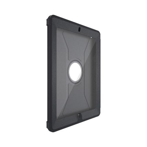 OEM Otterbox Apple iPad (2nd & 3rd Gen.) Defender Series Hard Case w/ Stand & Screen Protector - Black