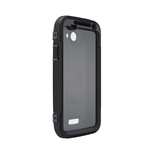OEM Otterbox HTC One X Defender Series Silicone Over Hard Case w/ Holster & Screen Protector - Black