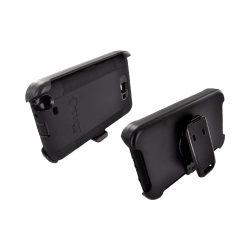 Otterbox Samsung Galaxy Note Defender Series Silicone Over Hard Case w/ Holster Stand - Black