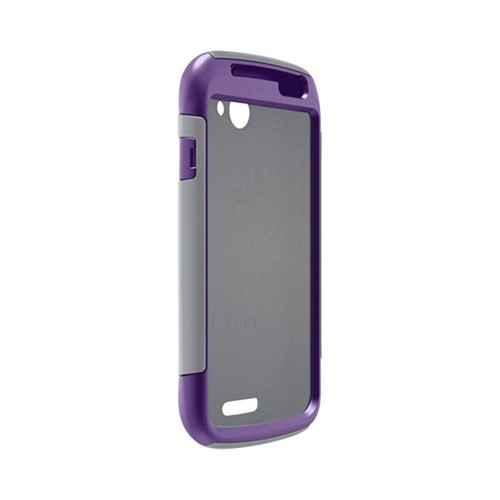 Otterbox HTC One S Hybrid Commuter Series w/ Screen Protector - Gray/ Purple