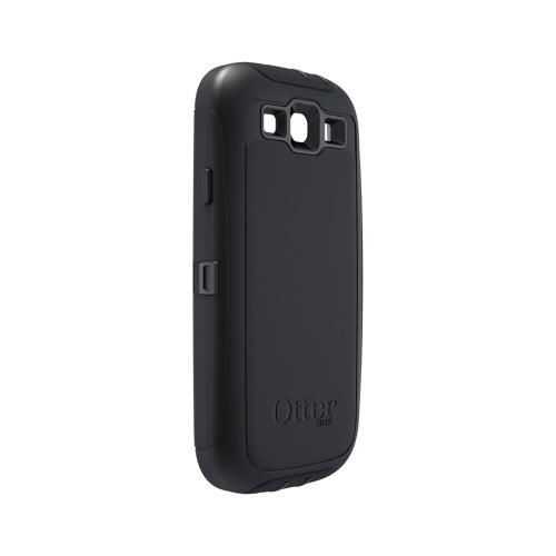 OEM Otterbox Samsung Galaxy S3 Defender Series Silicone Over Hard Case w/ Holster - Black
