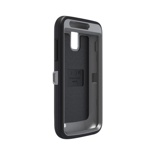 Otterbox Black/ Gray Defender Series Silicone Over Hard Case w/ Holster & Screen Protector for Samsung Galaxy S2 Skyrocket
