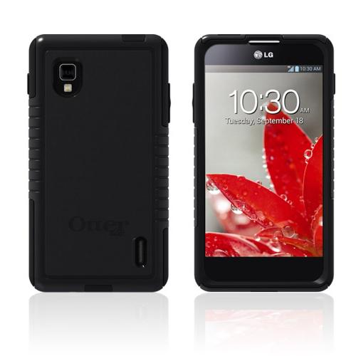 Otterbox Black Commuter Series Hard Case over Silicone w/ Screen Protector for LG Optimus G (Sprint)