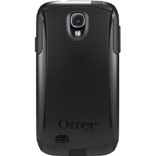 Otterbox Black Commuter Series Hard Case over Silicone w/ Screen Protector for Samsung Galaxy S4