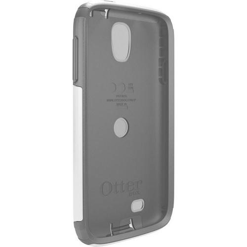 Otterbox Glacier (Gray/White) Commuter Series Hard Case over Silicone w/ Screen Protector for Samsung Galaxy S4