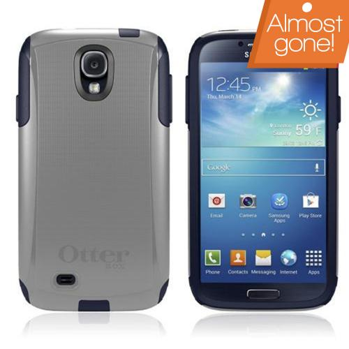 Otterbox Marine (Gray/Dark Blue) Commuter Series Hard Case over TPU w/ Screen Protector for Samsung Galaxy S4
