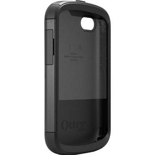 Otterbox Black Commuter Series Hard Case over TPU w/ Screen Protector for Blackberry Q10