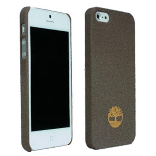 Apple iPhone SE / 5 / 5S  Case, Timberland [Brown] Newmarket Collection Bio-Degradable Sandblasted Case