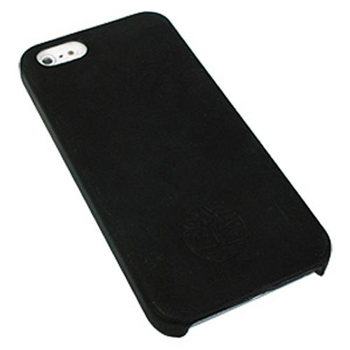 Original Timberland Mt. Washington Collection Black Genuine Leather Hard Case w/ Rubberized Interior for Apple iPhone 5/5S - NP0151/08