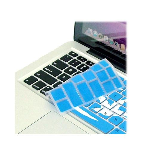 OEM XSKN Apple MacBook Silicone Keyboard Cover - Blue/ White Swallow
