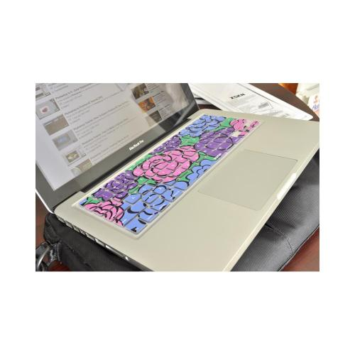 OEM XSKN Universal Apple MacBook Silicone Keyboard Cover - Multi-Colored Scent of Spring