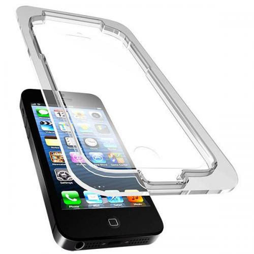 Versio Mobile Bulls-Eye Clear Screen Protector w/ Error-free Applicator for Apple iPhone 5/5S