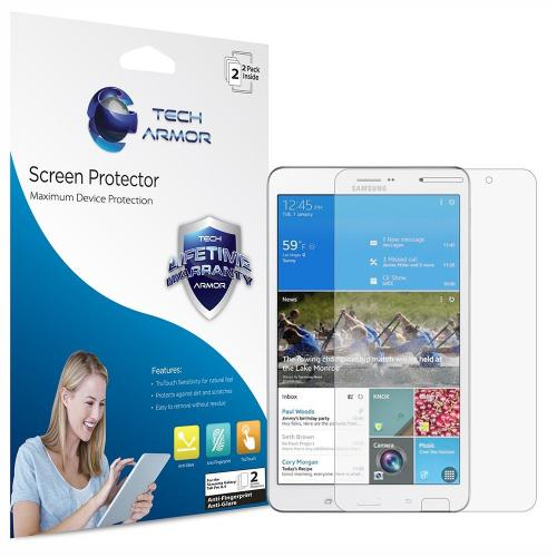 Tech Armor Samsung Galaxy Tab Pro 8.4 Anti-Glare/Anti-Fingerprint (Matte) Screen Protectors [2-Pack] Lifetime Warranty