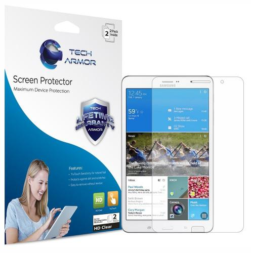 Tech Armor Samsung Galaxy Tab Pro 8.4 High Definition (HD) Clear Screen Protector