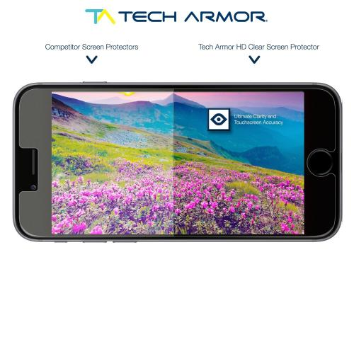 Tech Armor Apple Iphone 6 (4.7 Inch Only) High Definition (hd) Clear Screen Protectors -- Maximum Clarity And Touchscreen Accuracy [3pack]