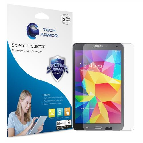 "Tech Armor Samsung Galaxy Tab 4 - 8"" Anti-Glare/Anti-Fingerprint (Matte) Screen Protectors [2Pack] Lifetime Warranty"