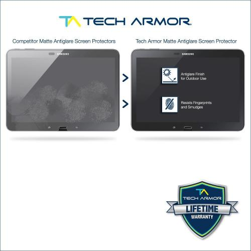 "Tech Armor Samsung Galaxy Tab 4 - 10"" Anti-Glare/Anti-Fingerprint (Matte) Screen Protectors [2-Pack]"